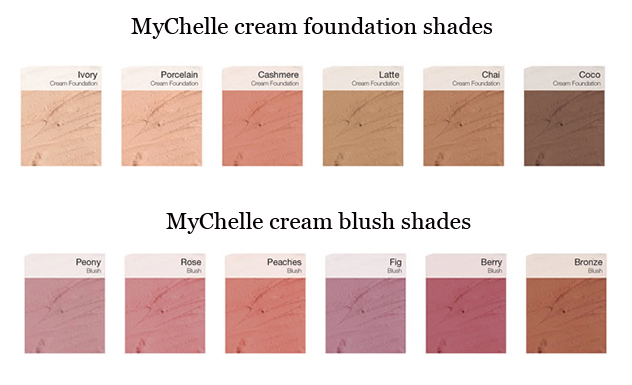 MyChelle mineral cream foundation and blush – green makeup blog