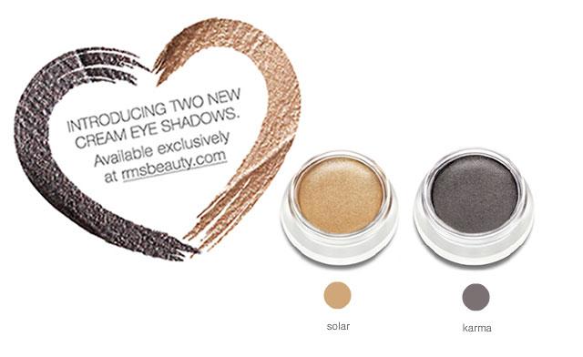 New greenies: RMS beauty new cream eyeshadow shades ...