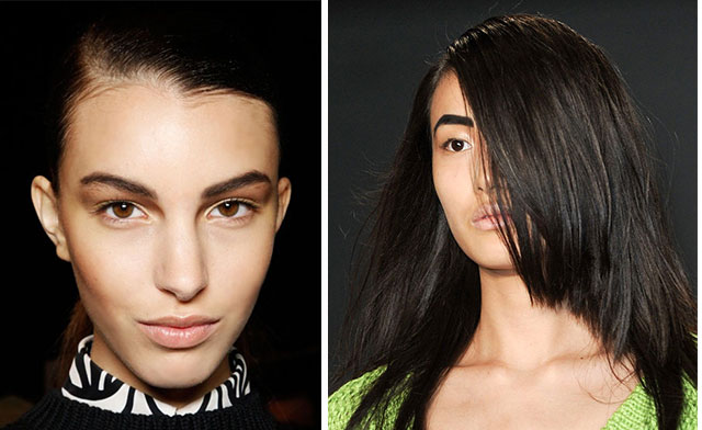 runway make-up trends