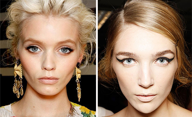 runway make-up trends