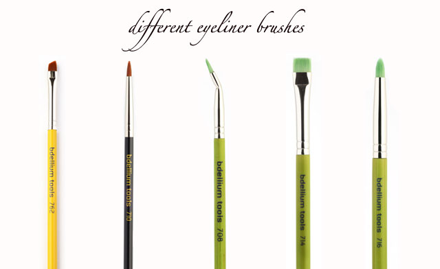 brushes for eyeliner