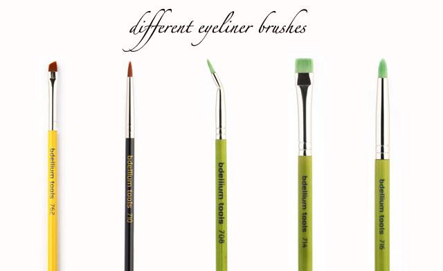 brushes for eyeliner