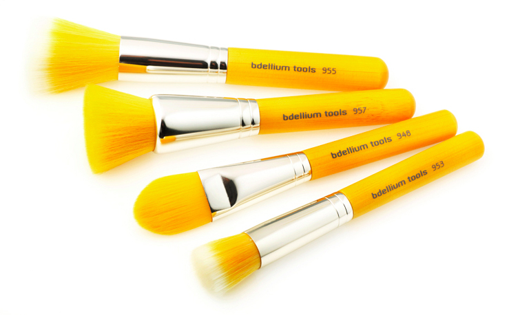 Bdellium yellow bambu brushes
