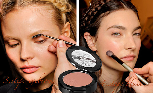 make-up step by step