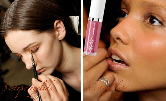 makeup step by step