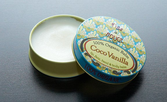 Figs and rouge Vanilla coco balm