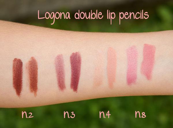Logona double lip pencils