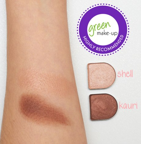 living nature eyeshadow swatches