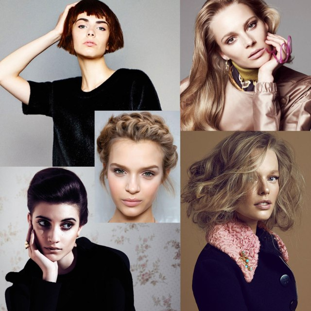 Nude make-up trends (images via Fashion gone rogue)
