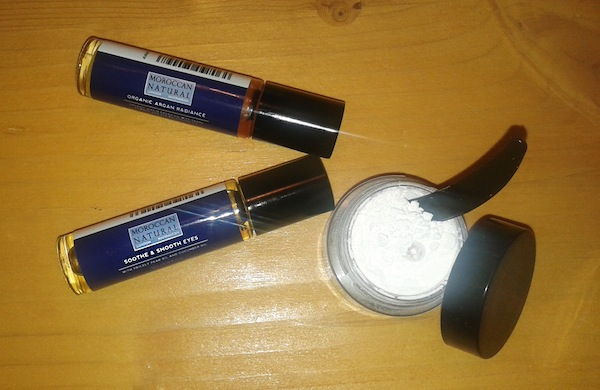 Moroccan natural: Pearl powder, Argan radiance, Soothe and smooth eyes
