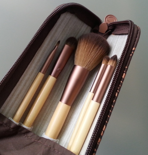 EcoTools make-up brushes