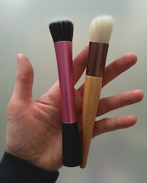 Real techniques and EcoTools