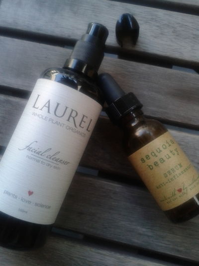 New Laurel Whole Plant Organics and Sequoia beauty