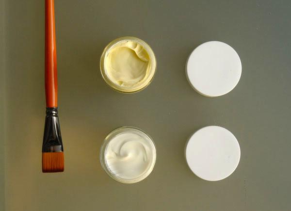 Luminance skincare Deep hydration moisturiser (top) and Rosewater mask