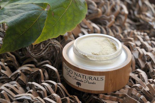 argo naturals thanaka powder