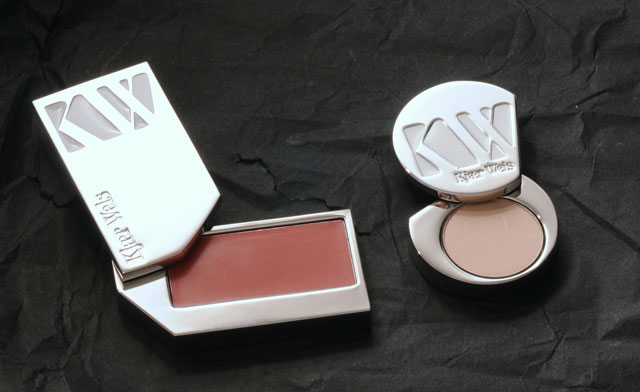 Kjaer Weiss Lip tint Passionate and Eyeshadow Cloud nine